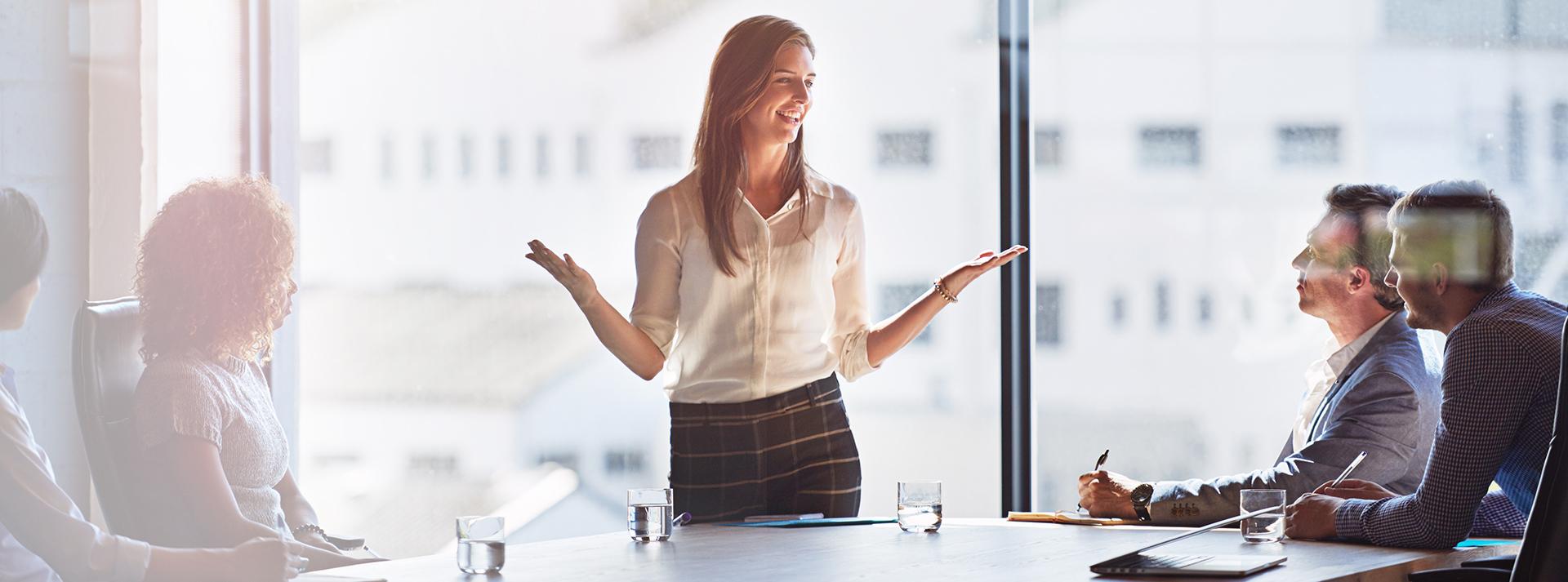 Ledarskapsutbildning med kvinnlig utbildare
